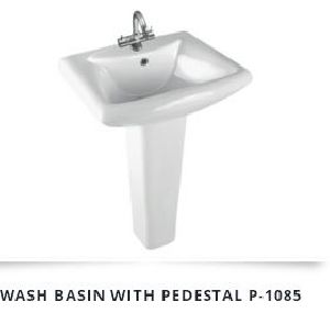 Pedestal Wash Basin 11