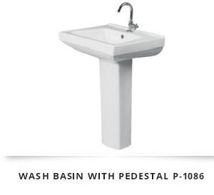 Pedestal Wash Basin 12