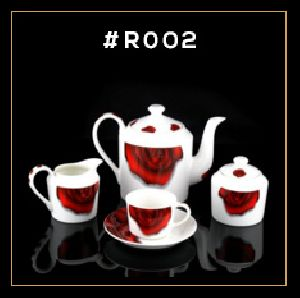 Red Rose Series Tea & Coffee Set