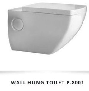 Wall Hung Ceramic Toilet 03