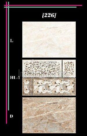 300x450mm Glossy 3 Series Wall Tiles