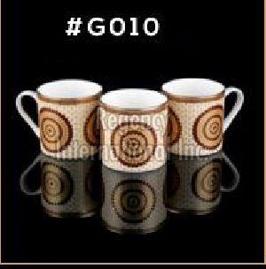 Gold Carpet Gold Line Series Ceramic Mug 06