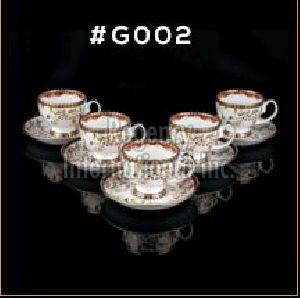 Gold Carpet Gold Line Series Cup & Saucer Set