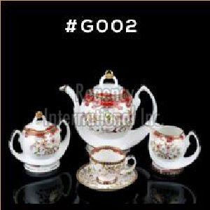 Gold Carpet Gold Line Series Tea & Coffee Set