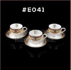 Gold Chain Gold Line Series Cup & Saucer Set