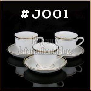Gold Line Series Cup & Saucer Set
