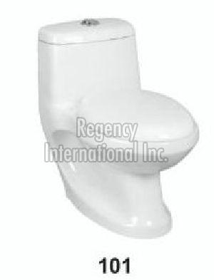 One Piece Ceramic Toilet