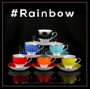 Rainbow Series Cup & Saucer Set