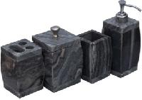 Grey Stone Bath Accessories
