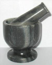 Marble Mortar Pestle 03