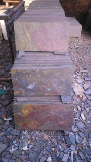 Peacock Slate Stone Tiles