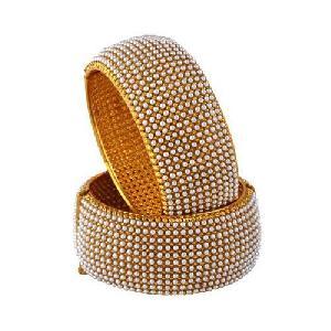 Pearl Studded Bangles