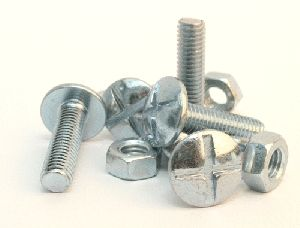 Zinc Coated Nuts & Bolts