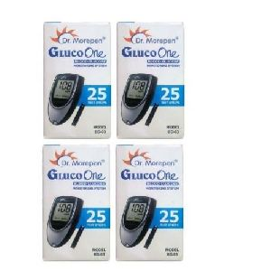 Dr.Morepen Gluco One BG 03 Test Strips 25x4