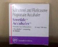 Seretide Accuhaler Injection