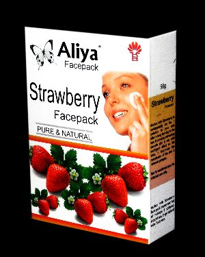 Strawberry Facepack