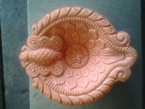 Terracotta Fancy Diya 06