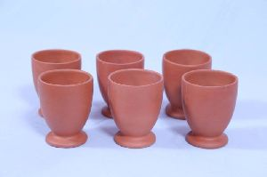 Terracotta Kullad Glass