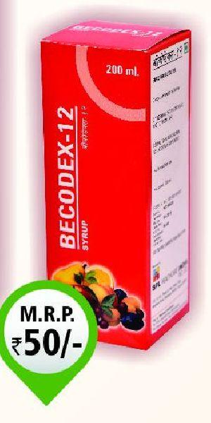 100ml Becodex-12 Syrup