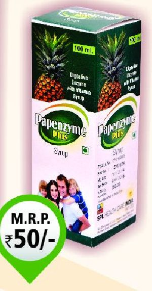 100ml Pepenzyme Plus Syrup