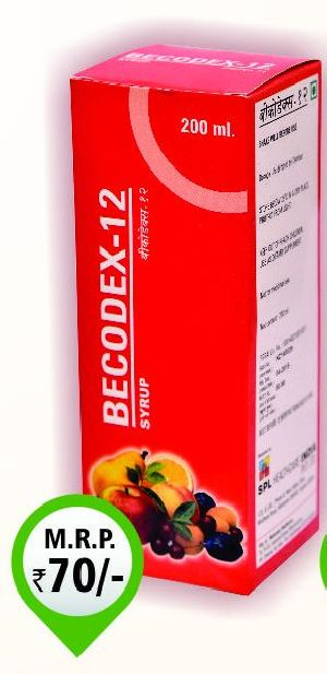 200ml Becodex-12 Syrup