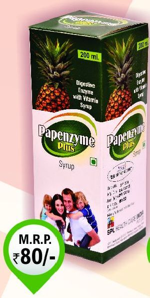 200ml Pepenzyme Plus Syrup