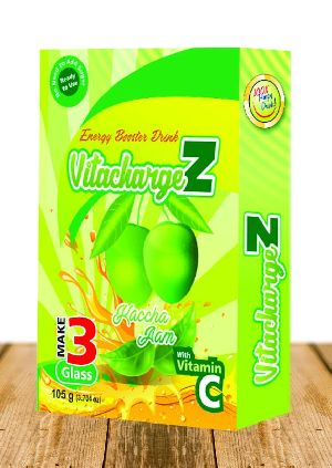 Kachaa Aam Flavour VitachargeZ Energy Drink
