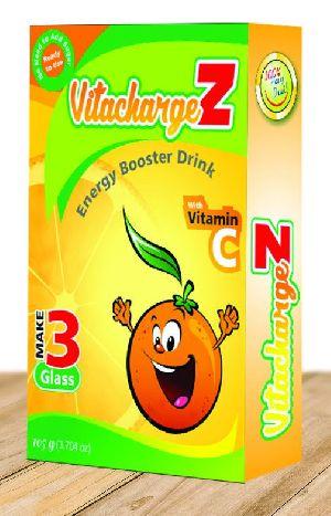 Orange Flavour VitachargeZ Energy Drink
