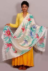 Floral Silk Dupata 01