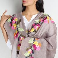 Floral Silk Dupatta 07