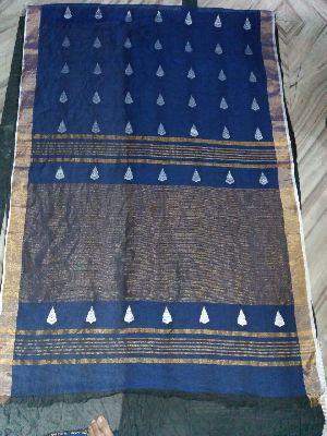 Jamdani Linen Saree 04
