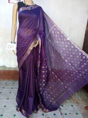 Jamdani Linen Saree 10