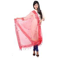 Mirror Work Silk Dupatta 07