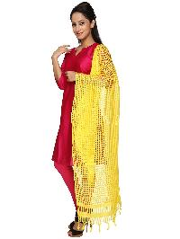 Mirror Work Silk Dupatta 08