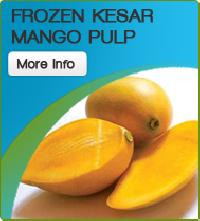 Frozen Kesar Mango Pulp