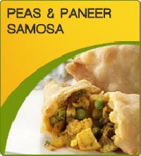 Frozen Peas Paneer Samosa