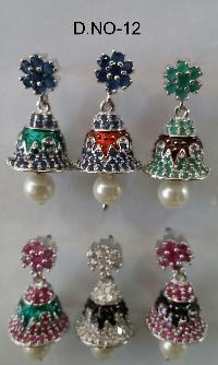 CZ Jhumka Earring 12