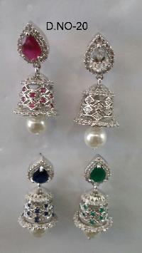 CZ Jhumka Earring 20