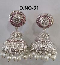 CZ Jhumka Earring 31