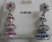 CZ Jhumka Earring 42
