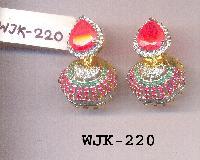 CZ Jhumka Earring (WJK-220)