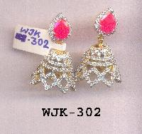 CZ Jhumka Earring (WJK-302)