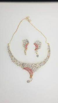 CZ Necklace Set 13