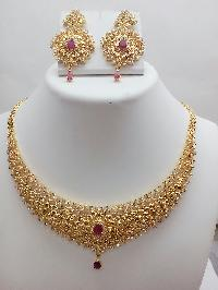 Gold Necklace Set 03