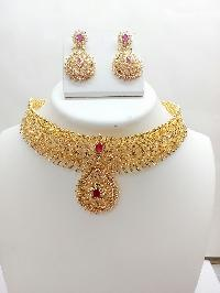 Gold Necklace Set 09