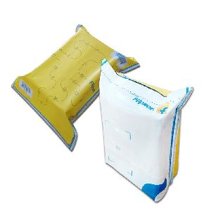 Flipkart Yellow Security Courier Bags