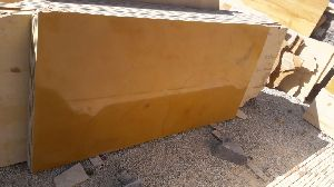 Yellow Marble Polished Slab