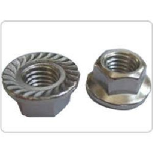 Stainless Steel Flange Nuts