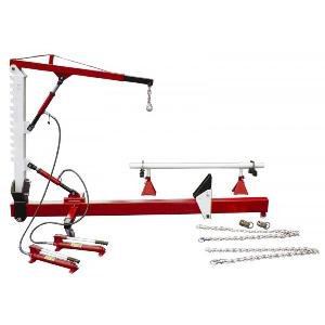 10 Ton Pull Post With Mobile Vertical Arm And Hydraulic Crane 9210