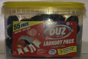 Liquid Laundry Detergent Pacs